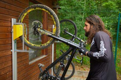 PARKIS MTB im Einsatz - der Mountainbike Lift