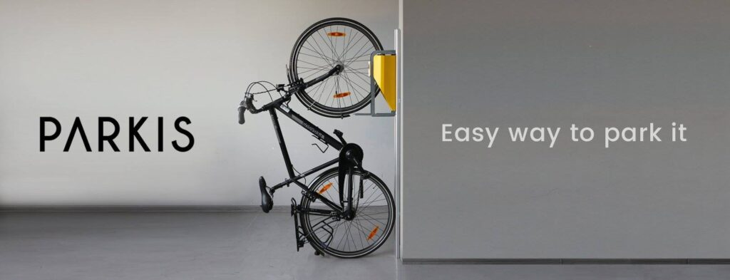 PARKIS - der vertikale Fahrradlift - the easy way to park your Bike