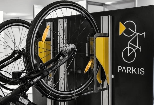 PARKIS vertikaler Fahrrad Lift, Space Saving